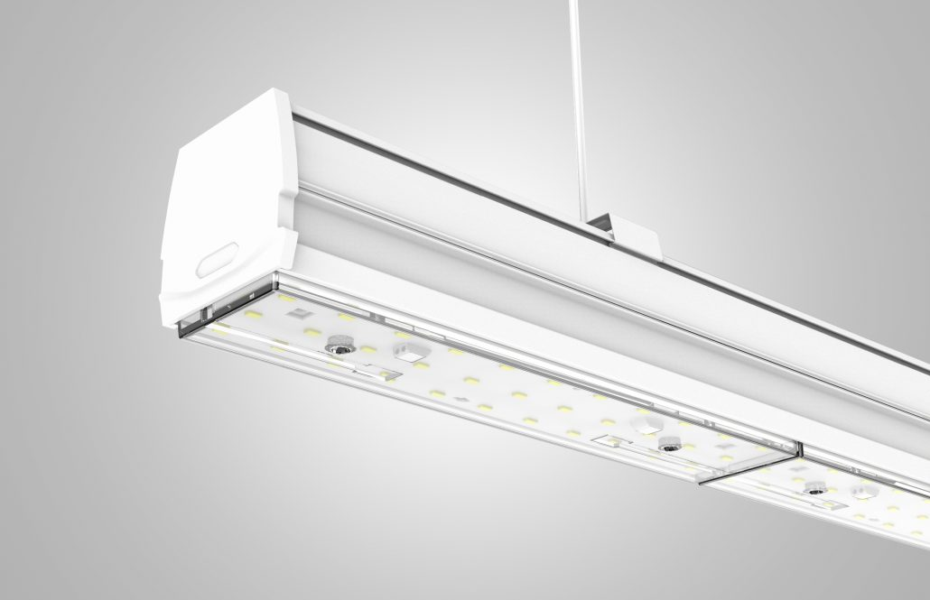 Led Linear trunking system, or Led continuous light line trunking system