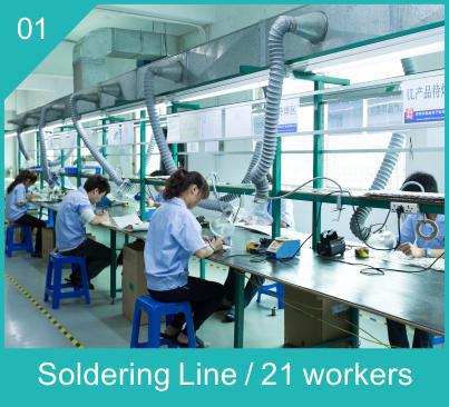 Soldering Line for Led Linear lights