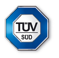 TUV SUD certified