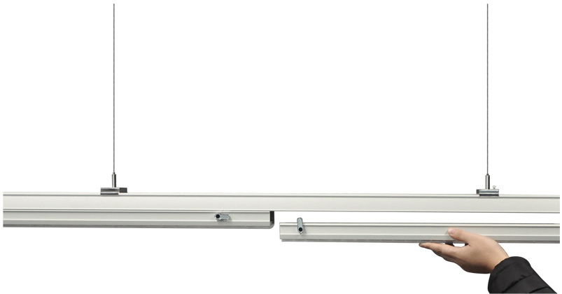 Linear Trunking Rail, without Led modules
